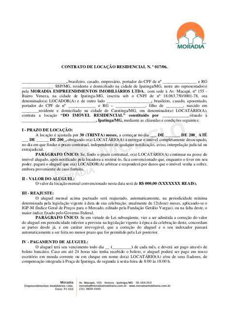 contratos modelo modelo contrato de locacao