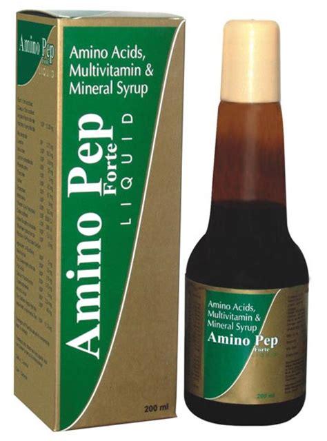 Corovit Syrup Multivitamin Asam Amino products amino pep forte syrup manufacturer manufacturer from chennai india id 1211743