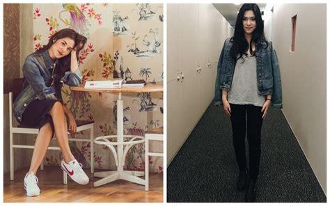 Isyana Dress Hitam 6 beda gaya raisa vs isyana mana yang lebih memukau
