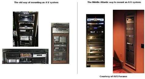 middle atlantic a v racks 19 quot audio rack home
