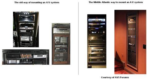 middle atlantic av racks  audiovideo rack home