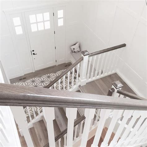 how to stain banister for stairs 25 best ideas about banister remodel on pinterest