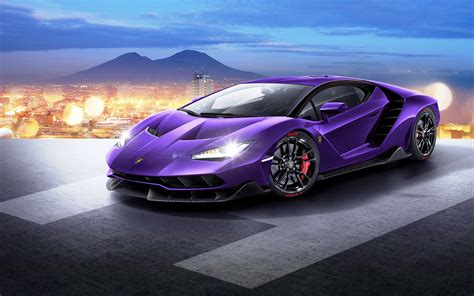 Purple Lamborghini Wallpapers Images Photos Pictures