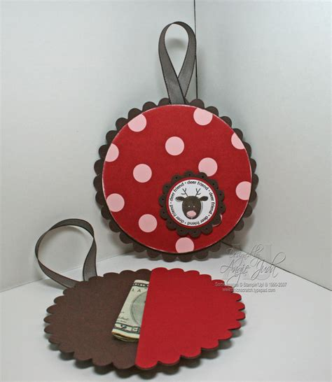 ornament gift card holder chic n scratch - Gift Card Ornament Holder