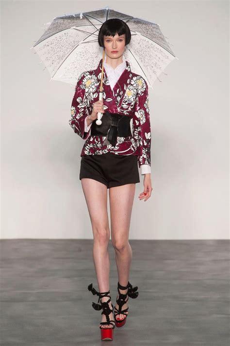 japanese collection l wren rtw 2014 japanese kimonos inspire