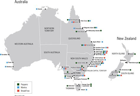map of australia and new zealand map of australia and new zealand with cities my