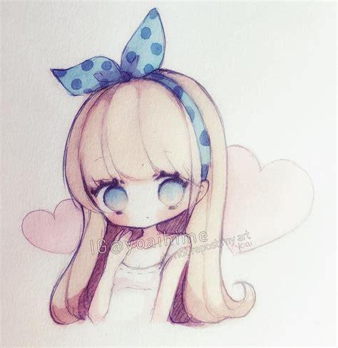 imagenes de personajes anime kawaii credit to the artist yoaihime instagram dibujo