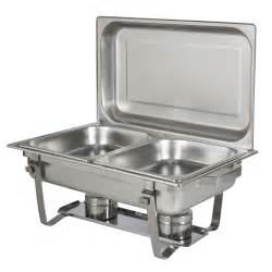 buffet chafing set chafing dish set of 2 8 quart stainless steel size