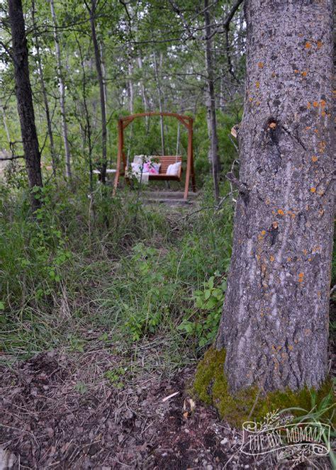 secret garden swing retreat