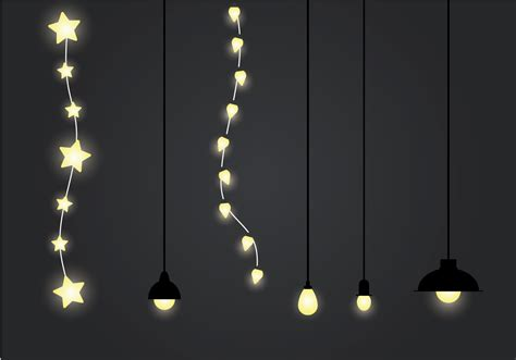Free Hanging Light Vector Illustration Download Free Lights Graphic