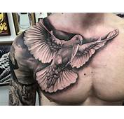 35  Awesome Dove Tattoos On Chest