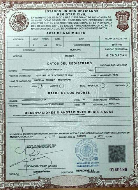 certificado de defuncion acta de matrimonio en blanco www imgkid com the image