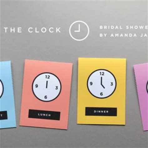 printable around the clock invitations around the clock bridal shower invitations free