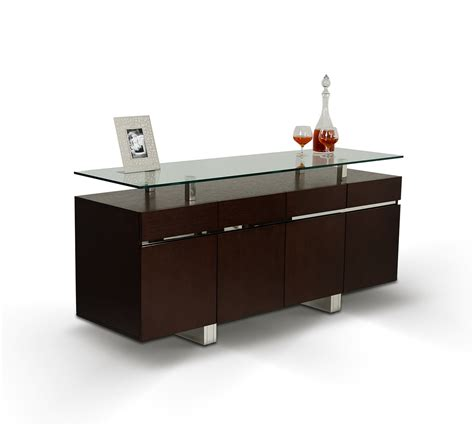Dining Room Tables Miami by Thor Modern Wenge Ash Veneer Buffet