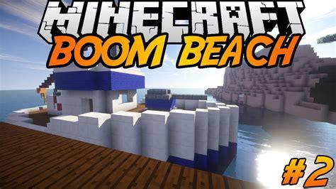boom beach boat boom beach in minecraft making of 2 gun boat landing