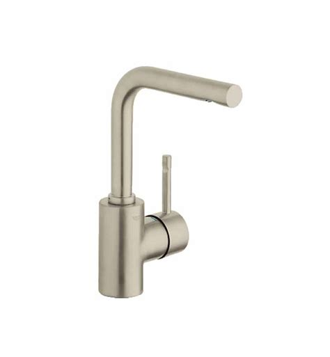 Alt Faucet by Grohe 32137en0 Essence Single Handle Faucet In Brushed Nickel