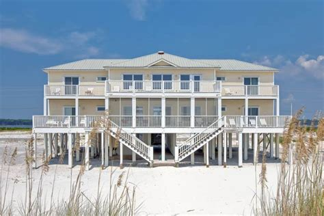 Houses In Gulf Shores by Paradox 6 Br 7 Ba House In Gulf Shores Vrbo