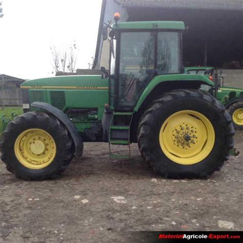 vendu deere 7600 tracteur agricole d occasion