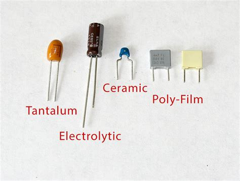 polarised capacitor meaning fet 500 build and calibration guide