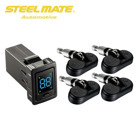 Alarm Toyota steelmate tp 73 car alarm tpms tire pressure monitor