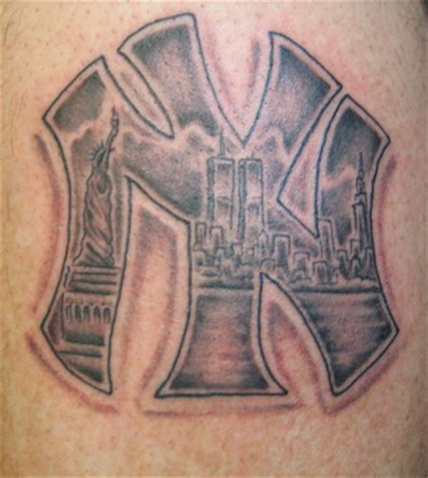new york yankees tattoos designs ink d by coleman custom tattoos by coleman