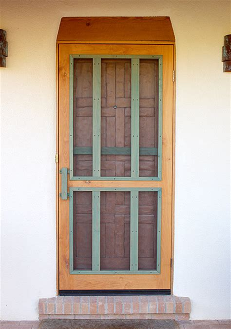 Handmade Screen Doors - the chaco screen door custom screen doors santa fe