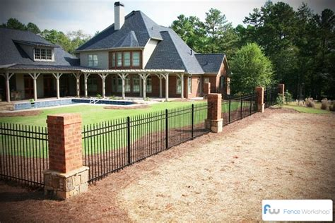 ornamental metal fencing atlanta ga fence workshop