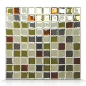 smart tiles sm1032 idaho self adhesive wall tile lowe s
