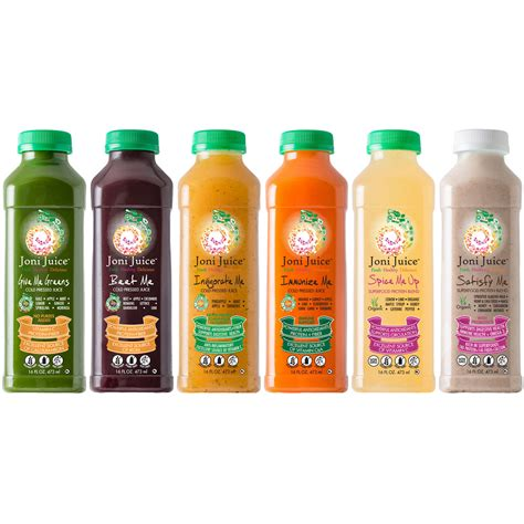 Detox Juice At Stores by 5 Day Cold Pressed Juice Cleanse Signature Joni Juice