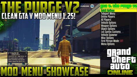 mod gta 5 online 1 20 gta 5 online quot 1 25 mod menu quot the purge v2 crazy quot gta 5