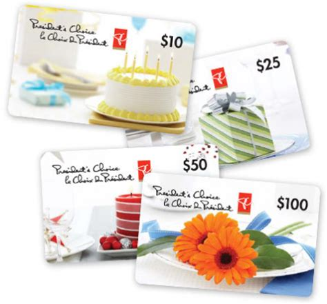 President Choice Gift Card Where Can I Use - win 5 000 in president s choice gift cards free stuff finder canada