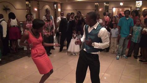 Dance TO SHASHIWOWO at African American Wedding   YouTube