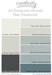 interior paint colors for 2015 2015 favorite paint color trends the new transitionals