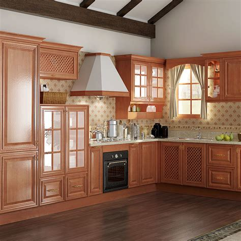 alacenas madera foto de exportaci 243 n cereza madera cocina alacena