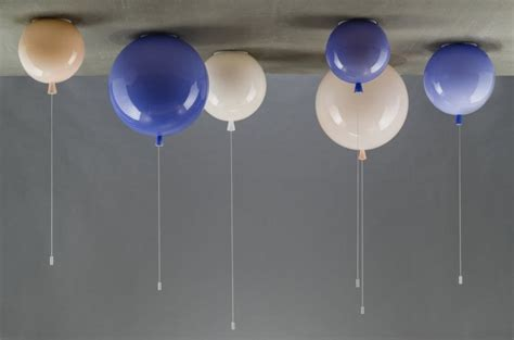 unique ceiling and wall lights in balloon shape memory