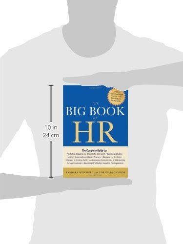 libro the big book of libro the big book of hr di barbara mitchell cornelia gamlem