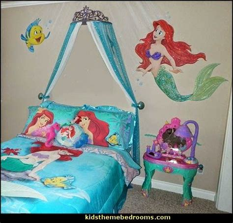 ariel themed bedroom decorating ideas ariel themed bedroom