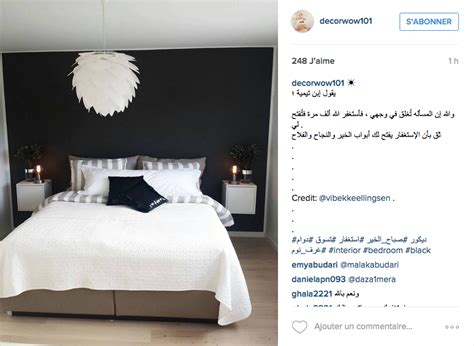 Deco Chambre Avec Lit Noir by Instagram Inspiration D 233 Co Pour La Chambre Cocon De