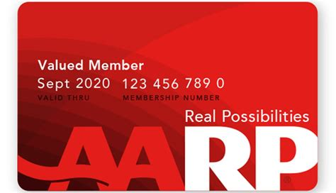aarp card template welcome to aarp s member benefits start saving today