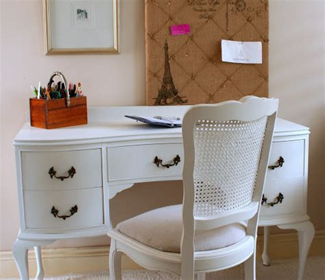 lilyfield white provincial writing desk