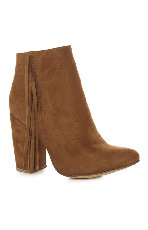 a stunning suede tassel ankle boots for your