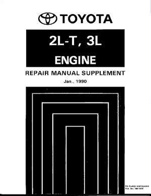 Calaméo - 2lt 3l Engine Repair Manual Supplement Toyota Manual