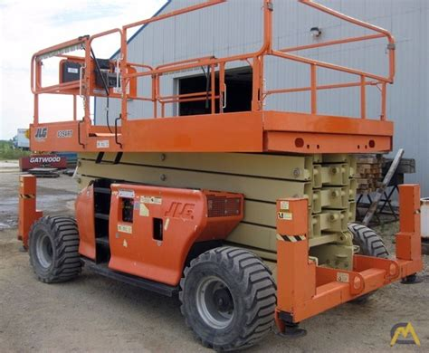 43 jlg 4394rt scissor lift lifts aerial access platform