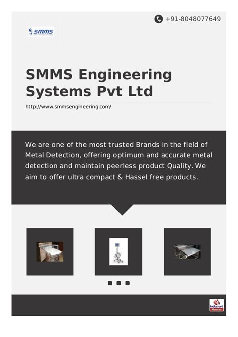 smms engineering system private limited mumbai security systems