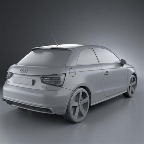 Audi A1 Model by Audi A1 3d Model Hum3d