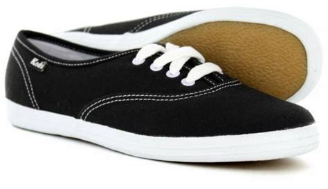 Keds Black White 1 keds chion originals canvas black white wf34100