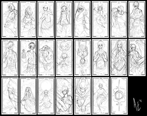 deck of cards book template turtle tarot sketches by turtle arts on deviantart