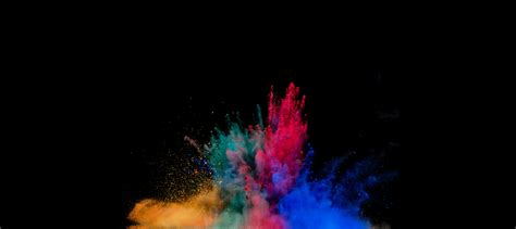 color powder explosion colorful powder explosion hd artist 4k wallpapers