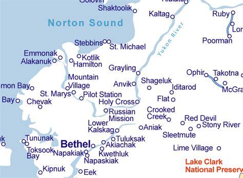 bethel alaska usa map map of alaska