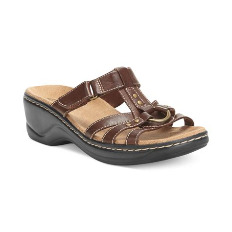 clark sandals womens clarks womens shoes sandals in brown mink